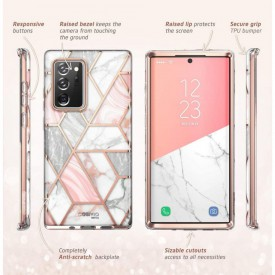 SUPCASE COSMO GALAXY NOTE 20 ULTRA MARBLE