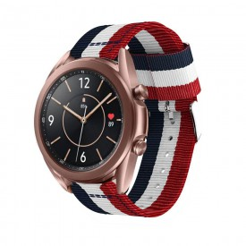TECH-PROTECT WELLING SAMSUNG GALAXY WATCH 3 45MM NAVY/RED