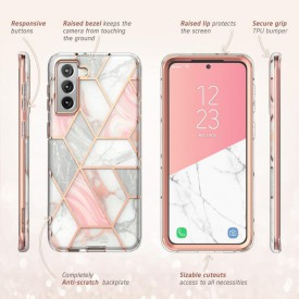 SUPCASE COSMO GALAXY S21 MARBLE