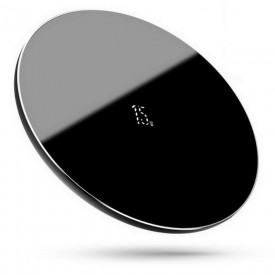 BASEUS SIMPLE 15W WIRELESS CHARGER BLACK