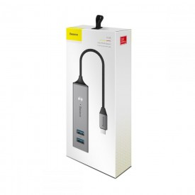 BASEUS D0G ADAPTER TYPE-C TO USB 5IN1 GREY