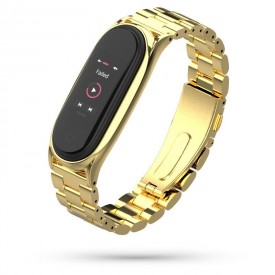TECH-PROTECT STAINLESS XIAOMI MI SMART BAND 5/6 GOLD