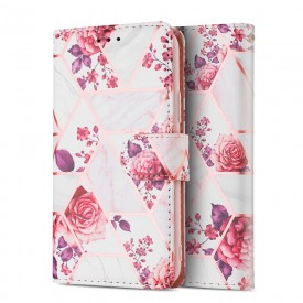 TECH-PROTECT WALLET GALAXY A72 FLORAL ROSE