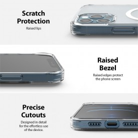 RINGKE FUSION MAGNETIC MAGSAFE IPHONE 12/12 PRO MATTE CLEAR