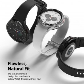 RINGKE BEZEL STYLING GALAXY WATCH 4 CLASSIC 42 MM STAINLESS SILVER