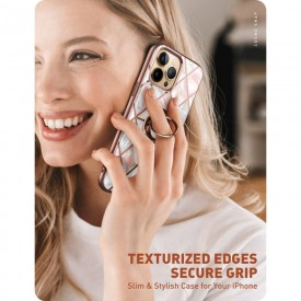 SUPCASE IBLSN COSMO SNAP IPHONE 13 PRO MARBLE PINK