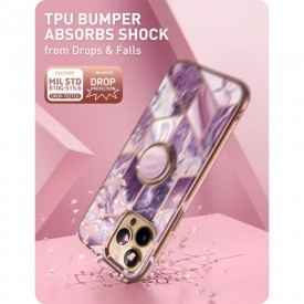 SUPCASE IBLSN COSMO SNAP IPHONE 13 PRO MAX MARBLE PURPLE