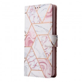 TECH-PROTECT WALLET GALAXY A03S MARBLE