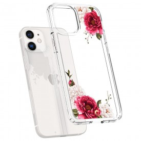 SPIGEN CYRILL CECILE IPHONE 12 MINI RED FLORAL