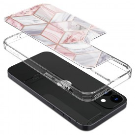 SPIGEN CYRILL CECILE IPHONE 12 MINI PINK MARBLE