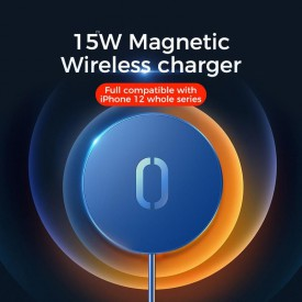 JOYROOM JR-A28 MAGNETIC MAGSAFE WIRELESS CHARGER 15W WHITE