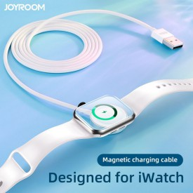 JOYROOM S-IW001S MAGNETIC CHARGING CABLE 120CM APPLE WATCH WHITE