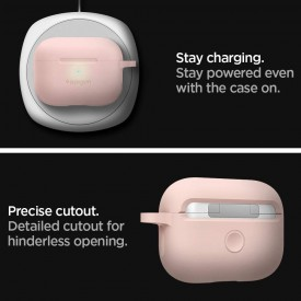 SPIGEN SILICONE FIT APPLE AIRPODS PRO PINK